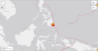 菲律賓民答那峨島規模7.2強震 美國發布海嘯警報
