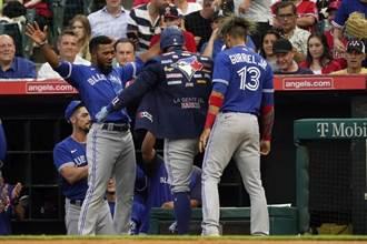 《時來運轉》運彩報報-MLB藍鳥重砲出擊 天使墜入凡間