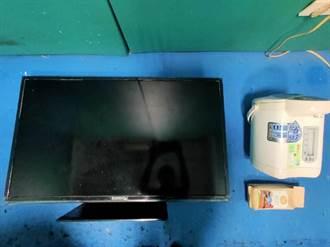 闖空門偷電器還遺留啤酒空瓶 嫌犯被逮笑稱:太渴了