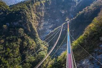 信義鄉雙龍瀑布七彩吊橋 8月16日起恢復營運