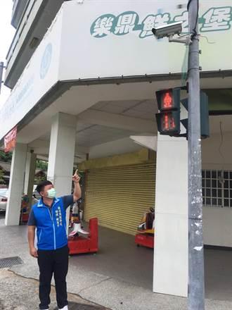 汰換老舊路口監視系統 中市議長承諾爭取電協金
