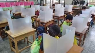 開學防疫備戰 台南國中小每人均有專用午餐隔板