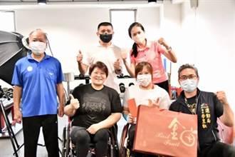 健力女將林亞璇6度前進帕運 中市府運動局預祝勇奪佳績