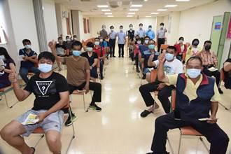 嘉義市245名義警、義消 接種新冠疫苗