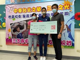 奧運銅牌羅嘉翎回饋母校 勉勵學弟妹堅持朝夢想努力