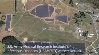 中共官媒用衛星照 「檢閱」美全球生化實驗室