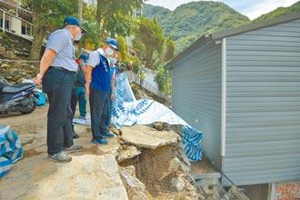 南投東埔土石毀民宅 林明溱助重建家園