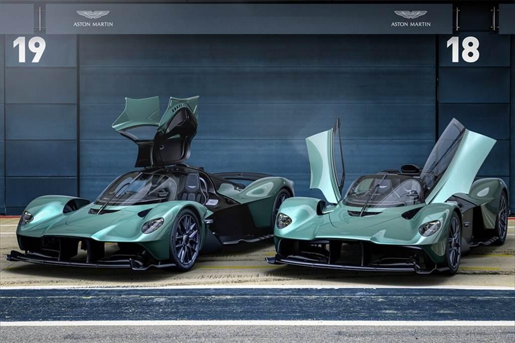女武神上空魅力無限!Aston Martin Valkyrie Spider亮相(圖/Carstuff)