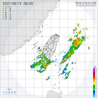 紫外線過量、午後有雷陣雨 吳德榮:慎防劇烈天氣