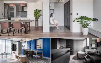 不用隔間牆也能界定空間!15款地板地材質拼接設計,打造居家無痕隔間