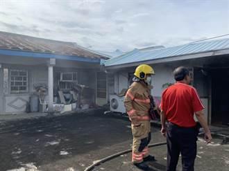 台南善化三合院火警 租客兒子開瓦斯引火燒傷送醫