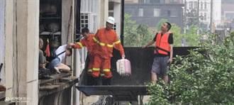 湖北隨縣柳林鎮遭遇極端強降雨 已致21人罹難、4人失蹤