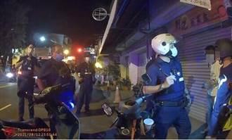 台南2少年深夜無照騎車與警追逐 見警包圍才投降 遭開11張罰單