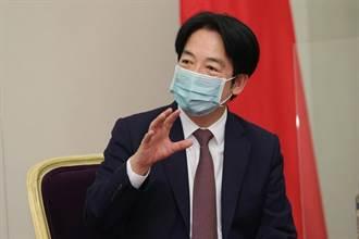 賴清德見孫曉雅:蔡總統兩岸互動持四原則是台灣人民心聲