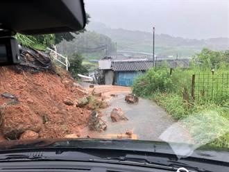 日本九州北部大雨破紀錄 長崎土石崩塌1死2失蹤