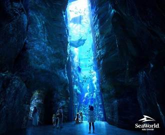 座落在阿布達比亞斯島的阿布達比海洋世界2022落成 將成為世界上最大的水族館