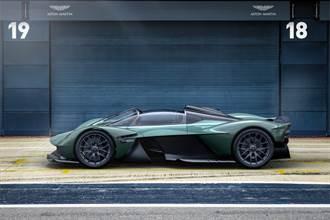 女武神上空魅力無限!Aston Martin Valkyrie Spider亮相