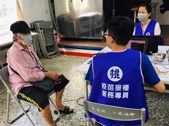 桃園有997位疫苗接種專員 助老人上網預約疫苗