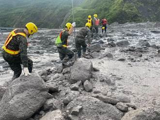 桃源區代表謝宜真至今尚未尋獲 搜救現場再爆土石流