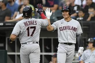 MLB》張育成重回大聯盟 立即上陣對戰老虎