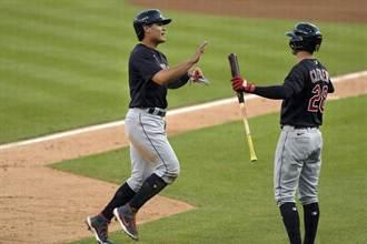 MLB》張育成回歸大聯盟 首戰就轟全壘打
