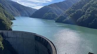 水位達規線以上 德基水庫常態性發電放水