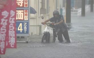 日本九州3縣降逾往年8月3倍雨量 傳零星災情