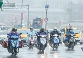雨神攪亂七夕情人節 11縣市大雨特報 雙北二級淹水警戒