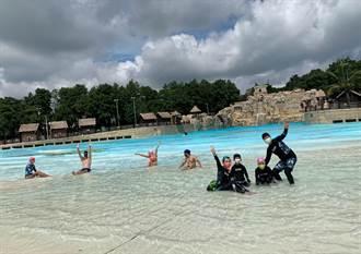 全台最大水樂園今開園 親子戲水直呼要玩一整天