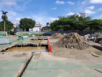 6具無主骨骸出土 斗六風雨籃球場基地全面開挖清理