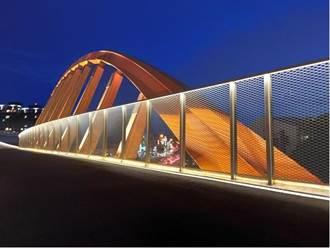 跳躍曲線設計 潭心鐵馬空橋今開放