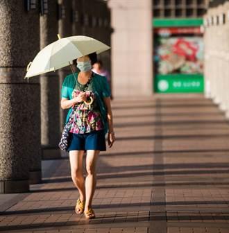 撐傘能遮陽 但這顏色最好!有效阻擋紫外線的傘和衣服 要這樣挑