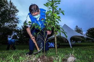五峰鄉愛上喜翁森林植樹 打造高山森林幼兒足球場