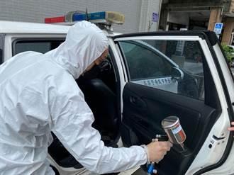 企業捐抗菌塗層 與警攜手防堵疫情
