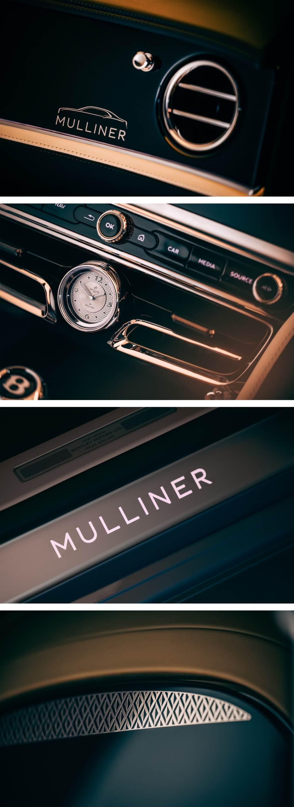 Mulliner車型團隊的第三款力作 Bentley Flying Spur Mulliner亮相(圖/CarStuff)
