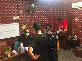 南警針對涉營妨害風化越南按摩店執行「靖黃專案」 查獲5件9人