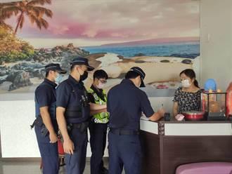 越南店掃黃 台南市警連日執行「靖黃專案」展成效