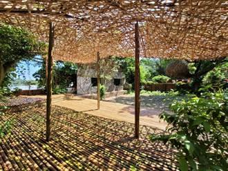 黃金博物館礦山藝術季 巨型竹編地景