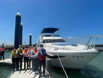 鄭文燦視察竹圍漁港規畫 打造新直銷魚市