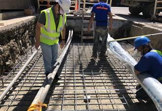 防淹水確保安全 中和公所斥資200萬進行下水道頂板強固工程