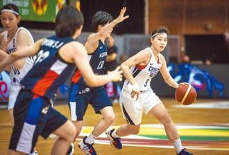 U19不敵韓國 中華女籃14名止步