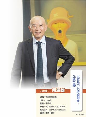 特力集團總裁何湯雄:發展與停損 是不衝突的兩條路