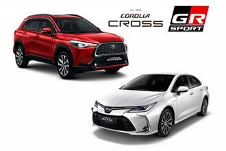 國產銷售雙王Corolla Cross/Altis將推新車型 最快9月登場