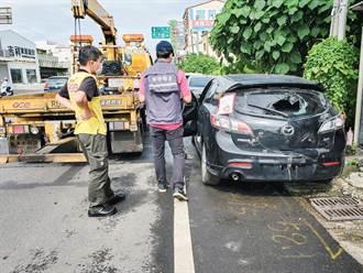 廢棄汽機車被任意棄置 台南上半年張貼通知單1670件