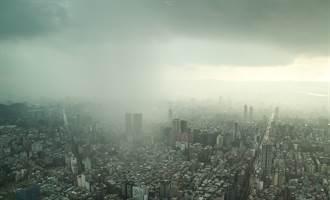 準颱風路徑恐大轉彎 鋒面突襲明起變天 午後雷雨更猛