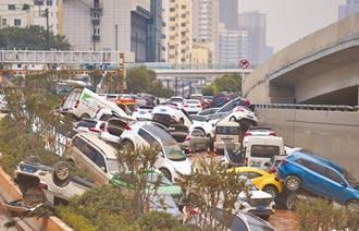 疫期碰洪災 大陸Q3經濟估跌破6%