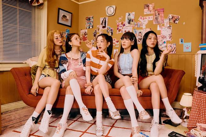「夏日女王」Red Velvet睽違1年8個月回歸歌壇。(愛貝克思提供)