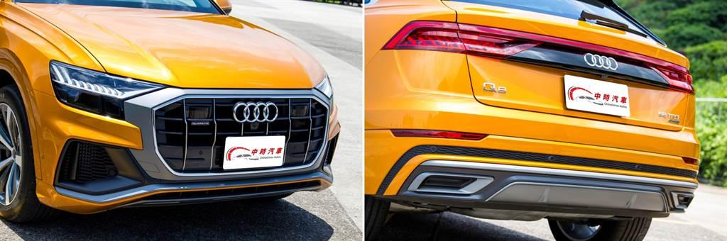 Q8早在2018年就於海外發表,為引領新世代Audi設計風格的車款。(圖/陳彥文攝)