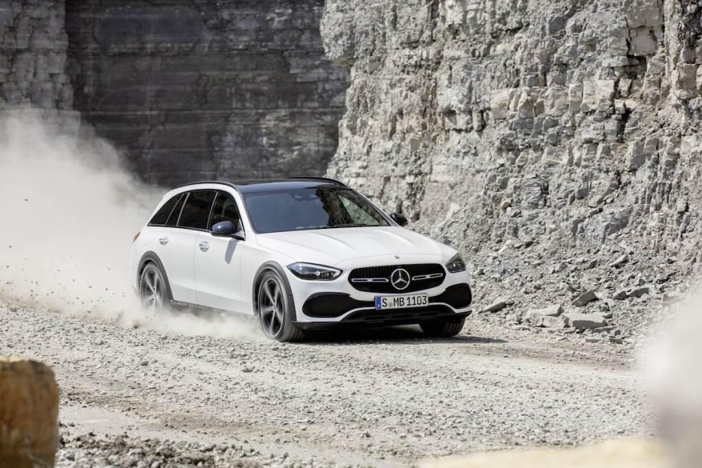 更全面的地形征服感,Mercedes-Benz C-Class All-Terrain 4MATIC 正式亮相(圖/CarStuff)