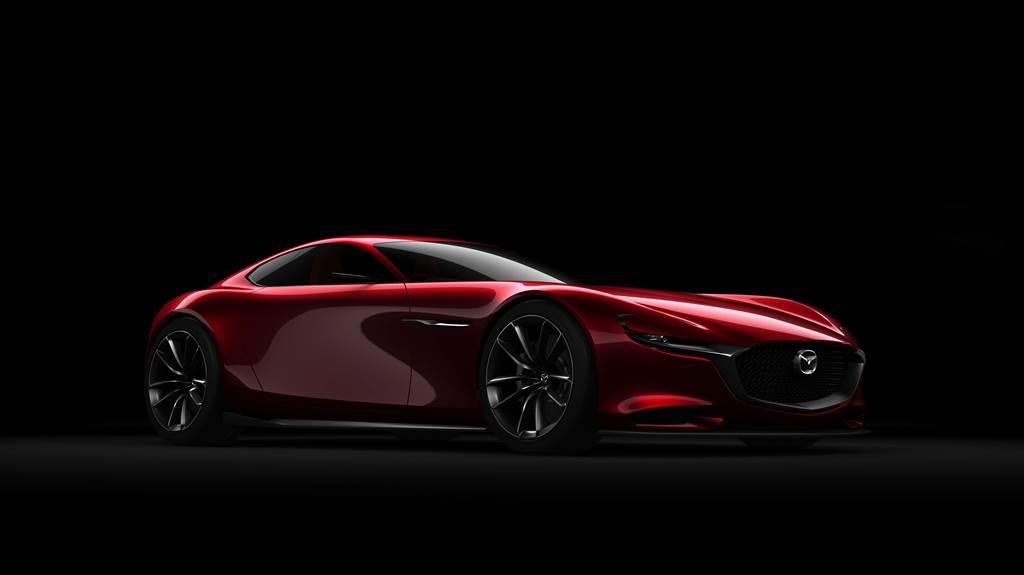 全新的氫燃料轉子引擎預期將會運用在RX-8的後繼車款,RX-Vision Concept的量產版本。(圖/Mazda官網)